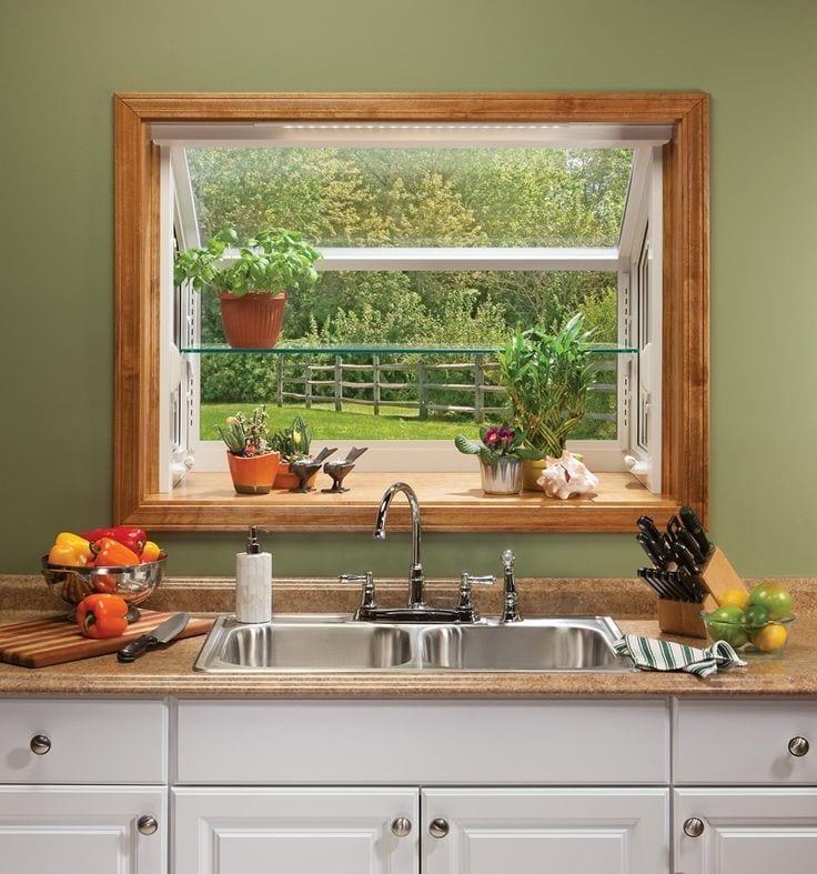 Case eficiente energetic geam la bucatarie