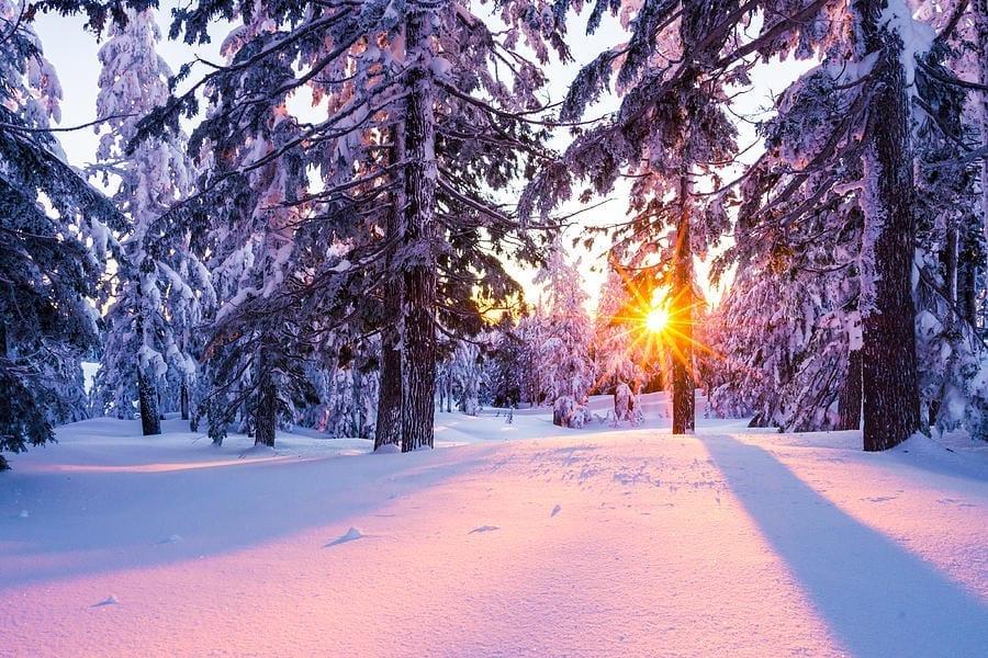 case eficiente energetic soare iarna