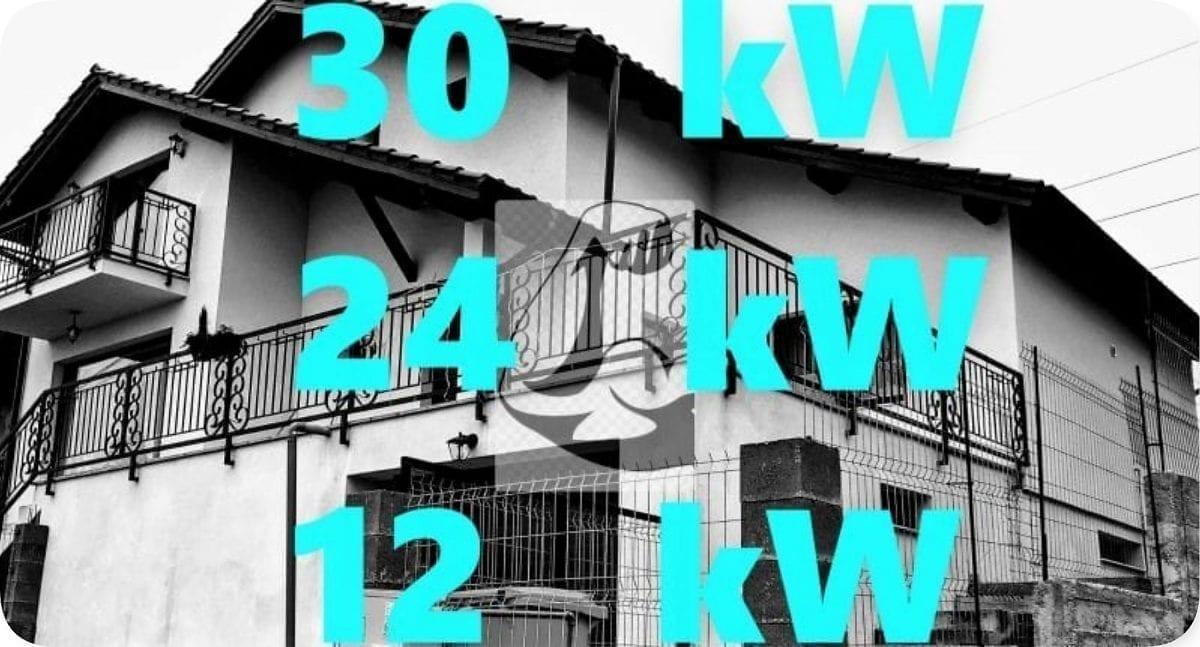 Putere centrala termica casa 150 200 250 mp