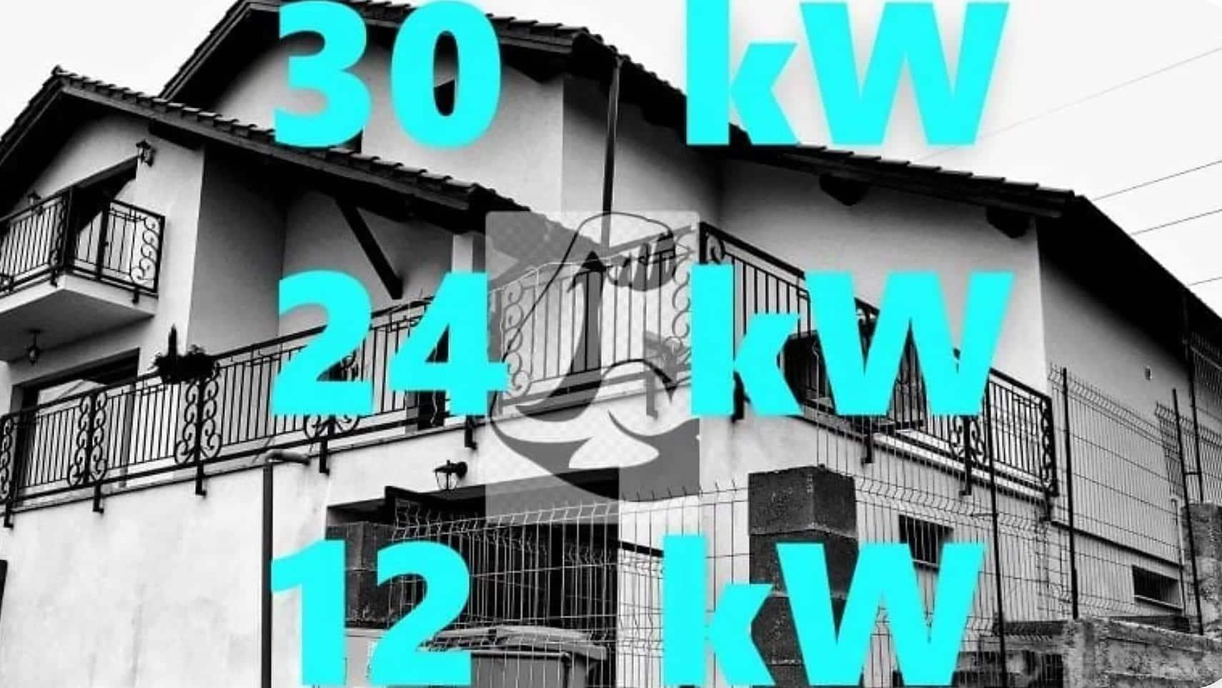 Centrală termică pentru casă 150..200..250 m², pompa