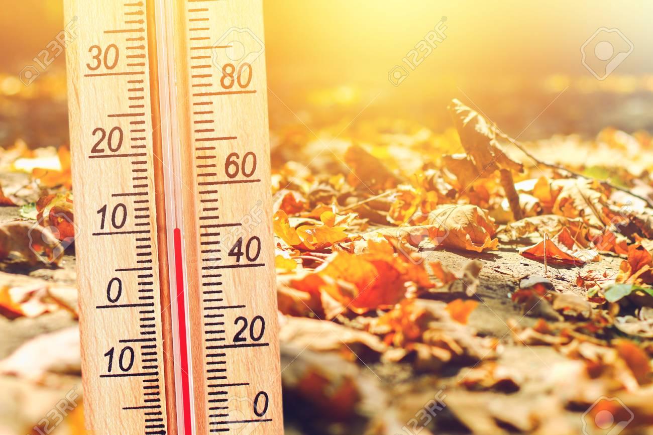 Cele mai bune centrale termice pe gaz: termometru toamna
