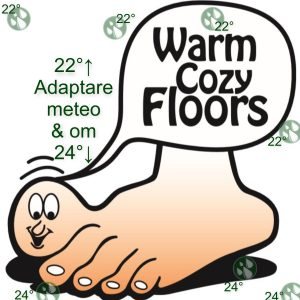 Adaptare meteo & om - cozy floor
