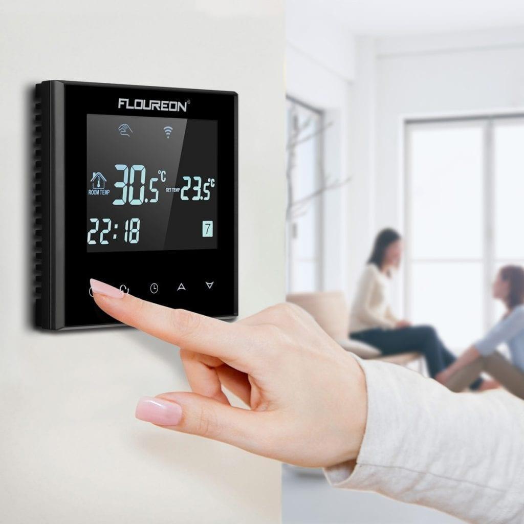 Automatizare pardoseală -- termostat