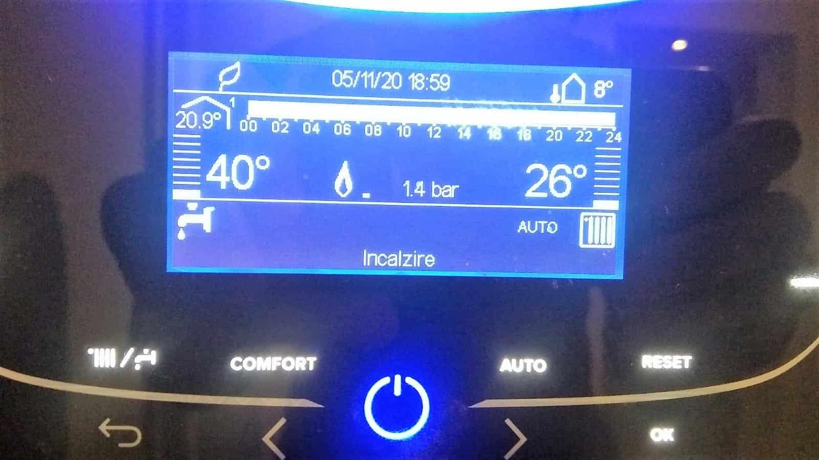 Cele mai bune centrale termice 26°C
