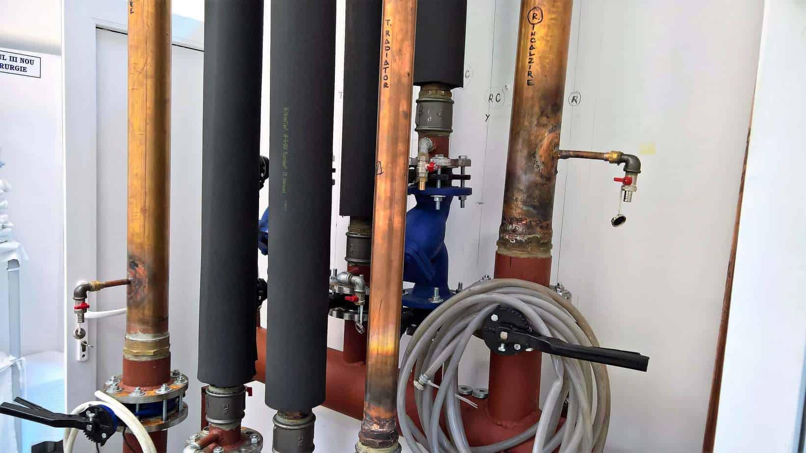 Firme încălzire în pardoseală Cluj - cupru 108 mm