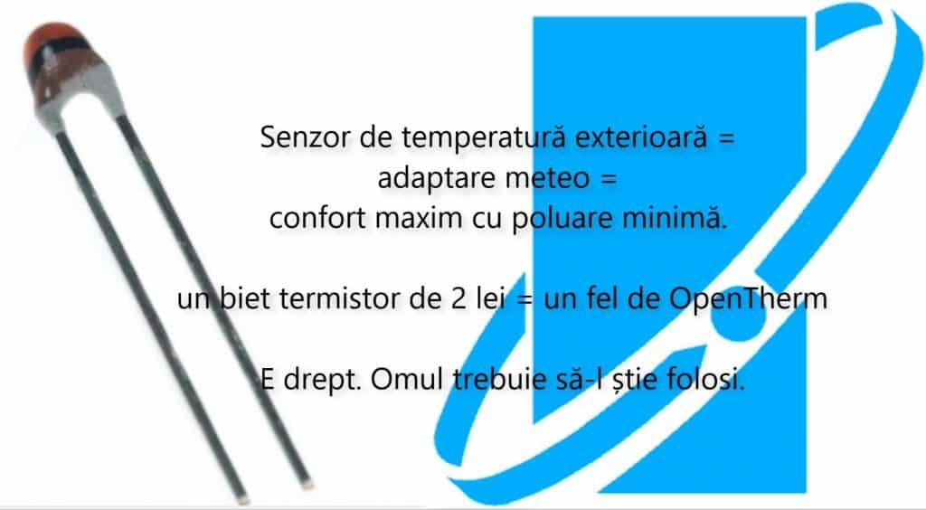 Senzor extern = un fel de OpenTherm