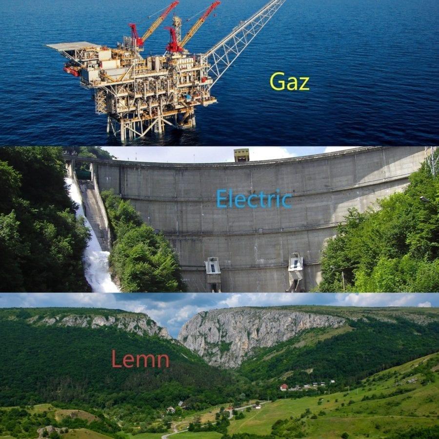 energie gaz-electric-lemn